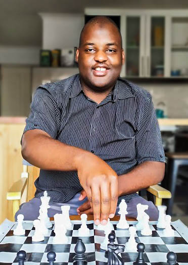 Dione Goredema Playing Chess Elite Chess South Africa Cape Town