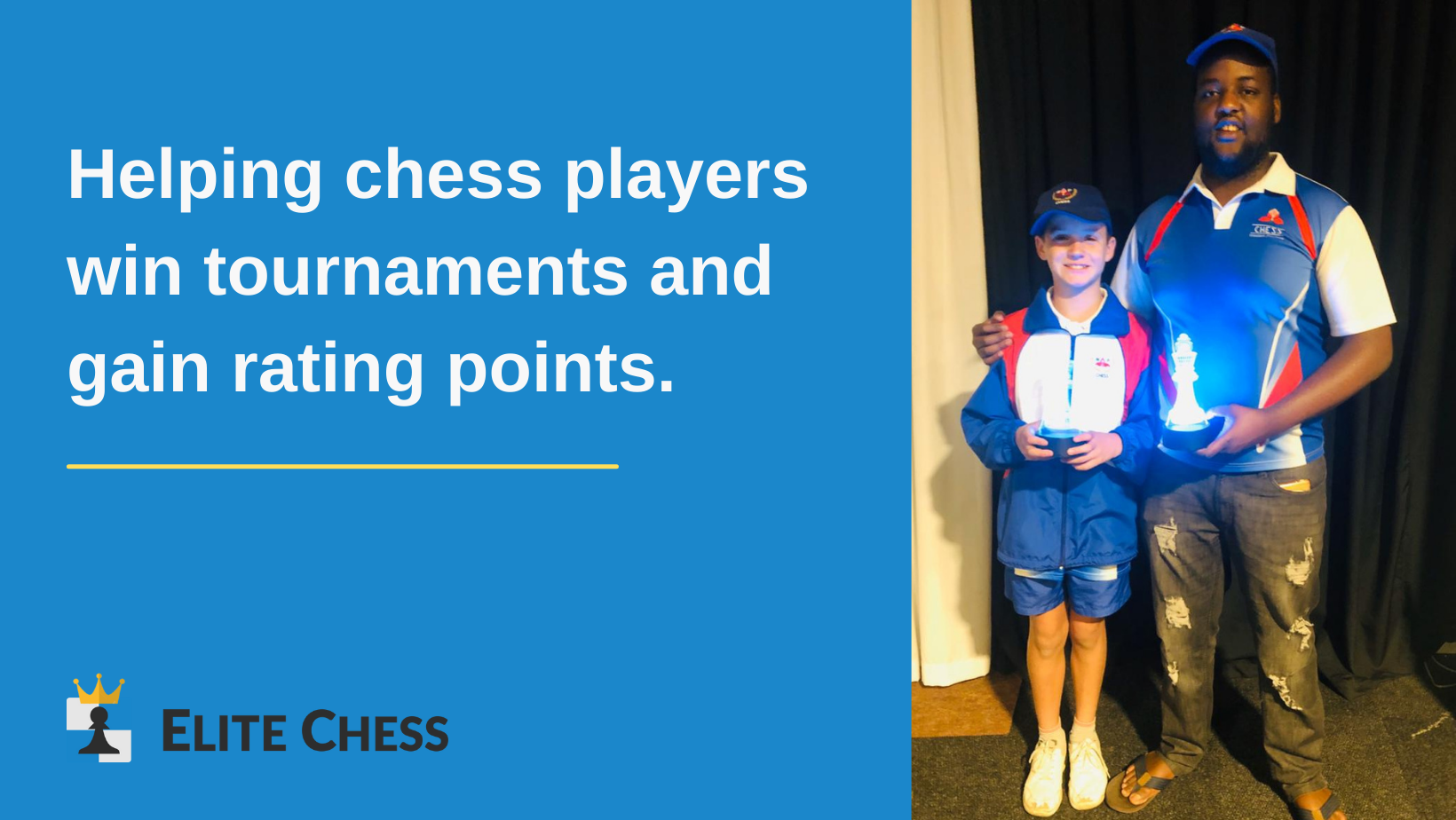 James Wilson part of the chess western province team