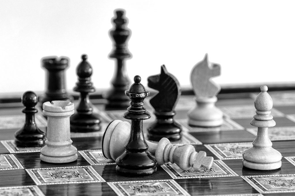 chess blunder checkmate king down